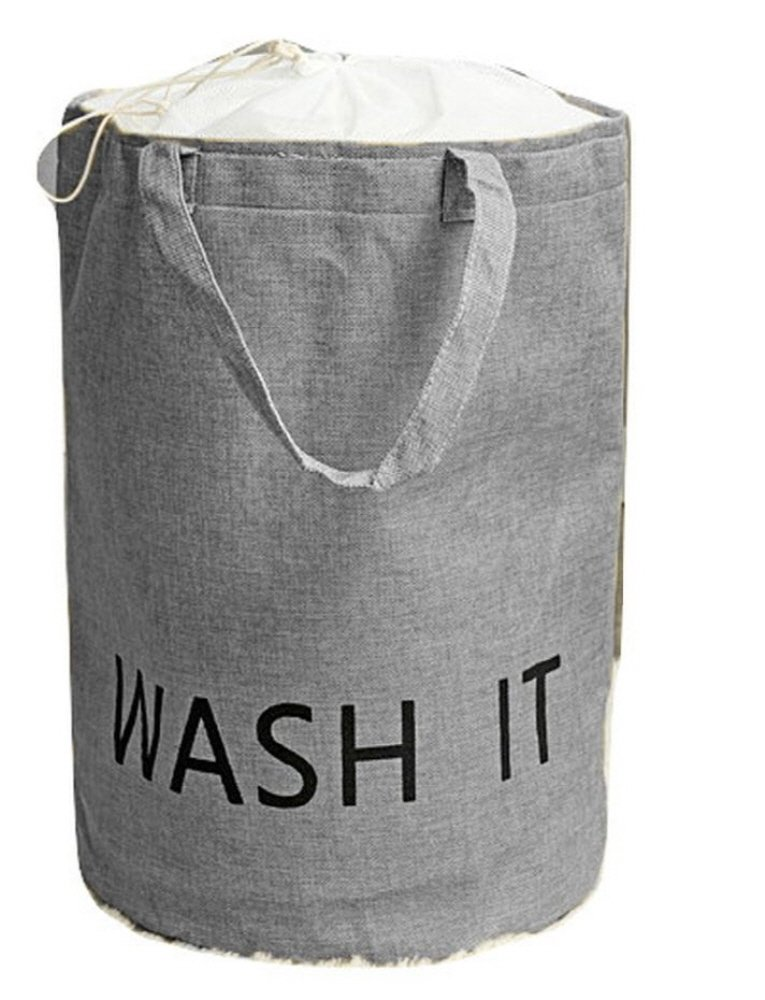 doto Handmade Cylindrical Shape Laundry Storage Box Laundry Basket Modern Design Jute Material Natural Style Laundry Hampers for Interior Accessory (Gray) - Handmade Cylindrical Shape 13 Diameter Laundry Basket Modern Design Jute Material Natural Style Laundry Hampers For Interior Accessory - laundry-room, hampers-baskets, entryway-laundry-room - 61EGt566OWL -
