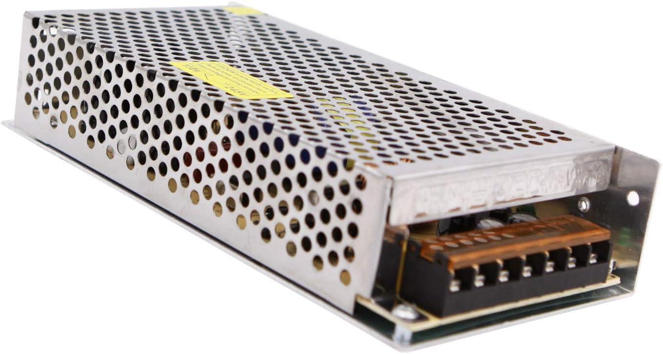 Alimentación de conmutación regulada universal 24V 5A 120W Fuente de alimentación AC 110V-220V a DC 24V 5A Convertidor de conmutación para todos los proyectos de 24V, como equipos de comunicación,etc.