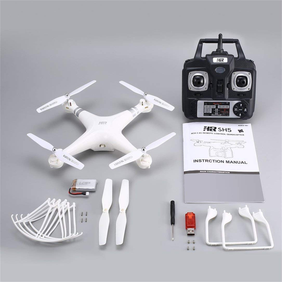 2.4G 4CH Smart-Drohne RC Quadcopter mit Altitude Halten Headless Modus One Key Return LED Light Control Geschwindigkeit VS X5