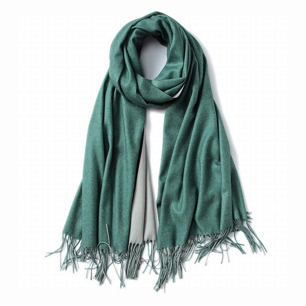 F Dequanrong Autumn d Winter Scarves Western Wind Double Sided Pure Gift Warm Warm Shawl Fashion Scarf for Women