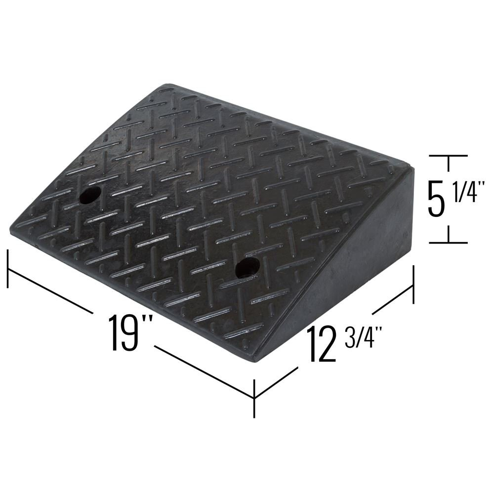 Guardian Industrial Products Rage Powersports DH-UP-5 Loading Dock Rubber Curb Ramp (40,000 lb.),1 Pack by Guardian Industrial Products (Image #3)