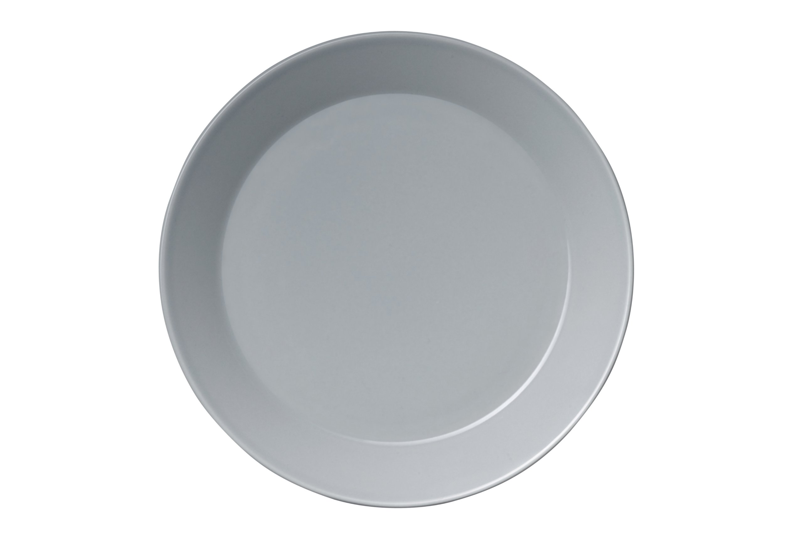 Iittala Teema 6-3/4-Inch Bread and Butter Plate, Pearl Gray