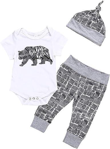 0-18Months,SO-buts Newborn Infant Baby Boy Summer Letter Romper Bodysuit Tops Summer Clothes