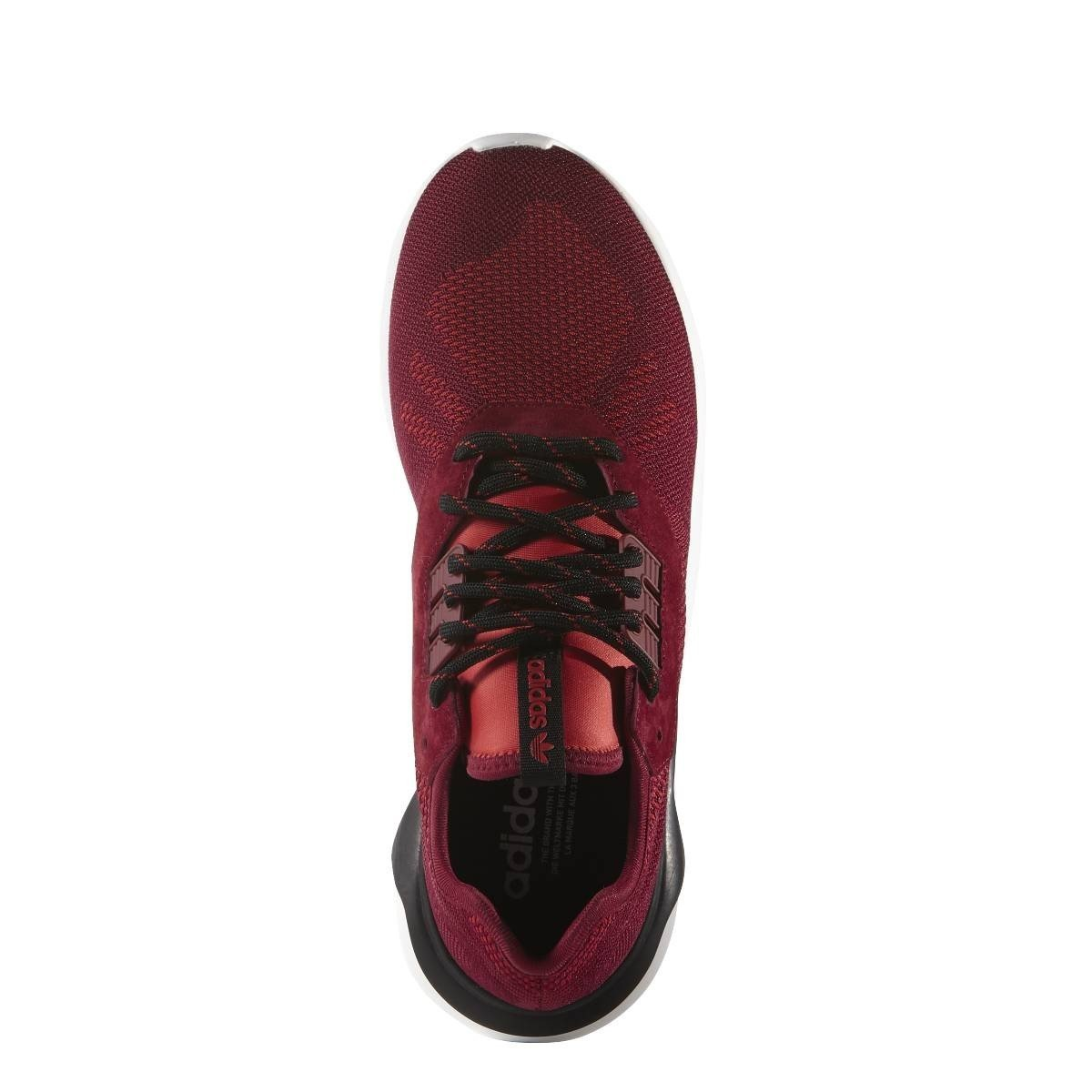 promo code f8bc2 17877 Adidas Tubular Runner Weave Sneaker, red, 42  Amazon.co.uk  Sports    Outdoors