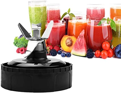 AxPower 2 Packs Extractor/Blades Replacement Part for Ninjia 16 oz Blender Cup 6 Fins Blender Blade Compatible with Nutri Ninja BL660 BL663 BL663CO BL665Q BL740 BL770 BL773Co BL771 BL772 BL780