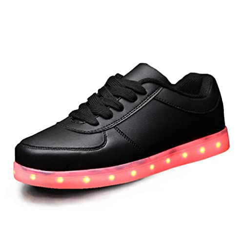 ToLFE Kids Boys Girls LED Light Up Shoes Flashing Sneakers (Little Kid/Big  Kid