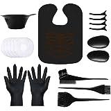 Hair Dye Kit,VITTA Hair Dye brush and bowl set for DIY Hair Coloring Bleaching, Salon Hair Dye Kit with Hair Cutting…