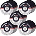 "50 PACK - CUT OFF WHEELS 3"" x 1/16' x 3/8"" - AGGRESSIVE CUTTING FOR ALL METAL AND STAINLESS STEEL."