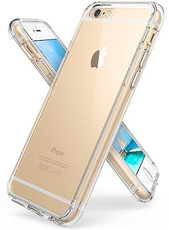 76e6e9e79af iPhone 6S Plus / 6 Plus Funda - Ringke FUSION *** Nueva Tecnologa de  Absorcin de golpes. Cristal Claro Absorcin TPU ...