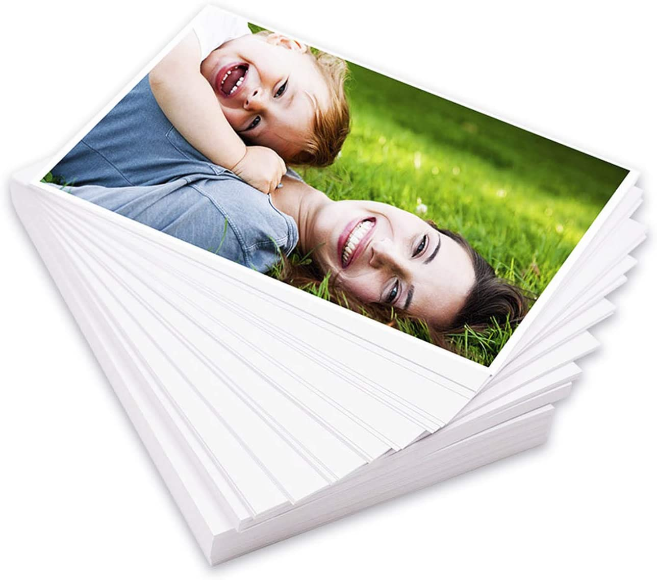 """Keep Better 500 Sheets 4""""x 6"""" 4R High Glossy photographic Paper Waterproof Professional Photo Paper Works with All Inkjet Printers 230gsm"""