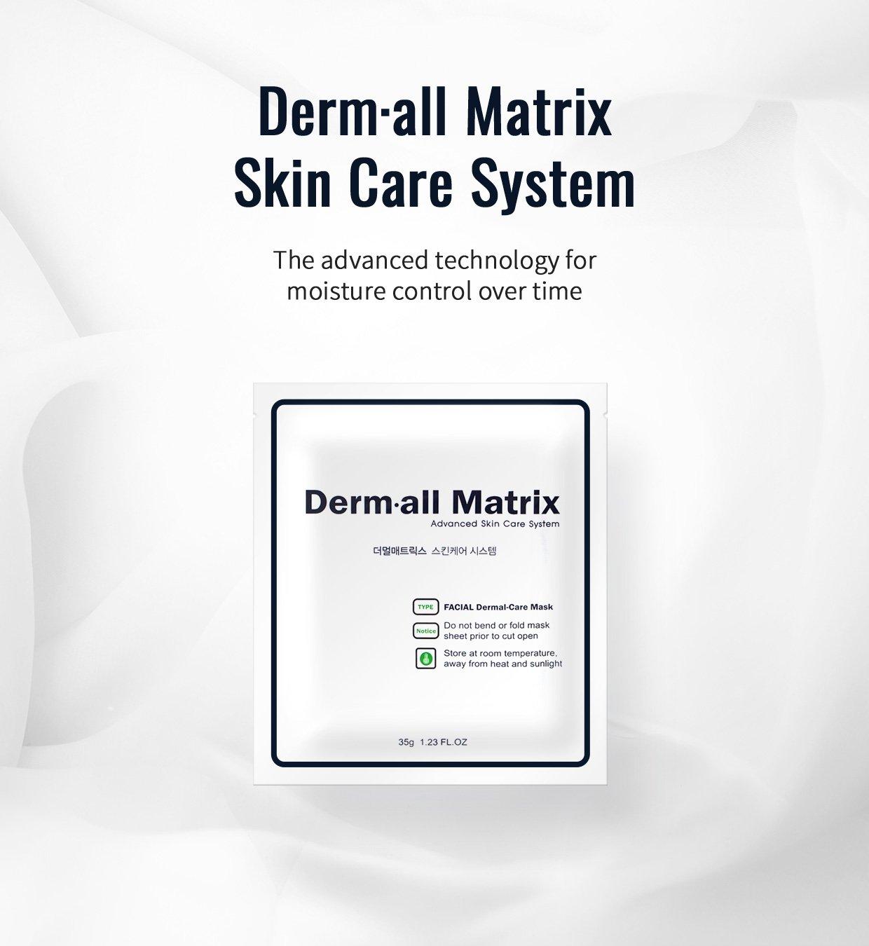 Dermall Matrix Daily Facial Dermal Care160g 4ea Secret Key Nature Recipe Mask Pack Tea Tree 20g 3pcs Beauty