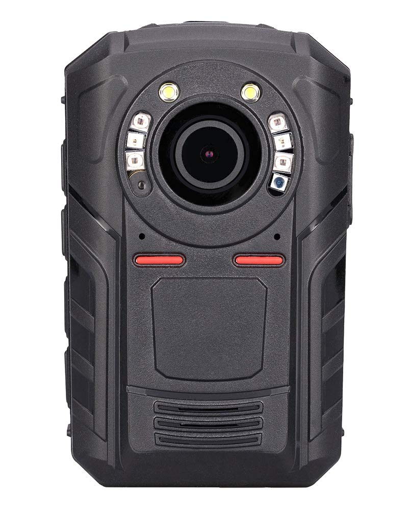 Mojo Police Body Camera with 1440P, H.265,140° Wide Angle Lens,12+ Hour Battery Life at 1080p,Low Light Recording at 0.1 Lux, Pre-Buffering up to 30 Sec,Compact and Lightweight Body Worn Camera-32GB by GoflyCam (Image #1)