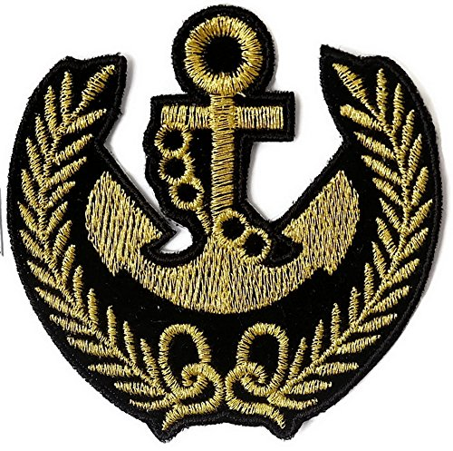 Anchor Iron On Patch Embroidered Sewing For T Shirt  Hat  Jean  Jacket  Backpacks  Clothing  1