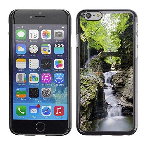 """Premio Sottile Slim Cassa Custodia Case Cover Shell // F00017571 Cascades // Apple iPhone 6 6S 6G PLUS 5.5"""""""