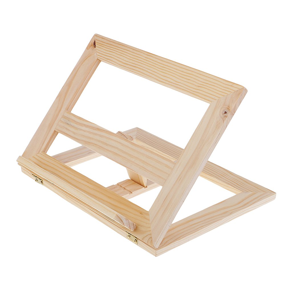 Homyl Portable Folding Wooden Artist Easel Table Easel Painting Drawing Stand Holder