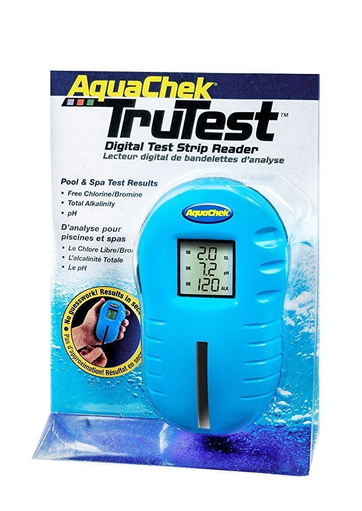 AquaChek TruTest Digital Test Strip Reader + tub of 25 strips