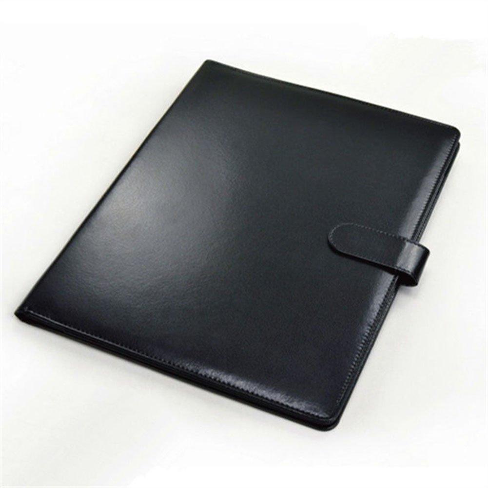 conference folder amytalk pu leather padfolio resume portfolio folder a4 interview legal. Black Bedroom Furniture Sets. Home Design Ideas