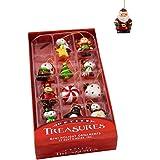 """Kurt Adler H9551 1.25"""" Petite Treasures Mini Ornament Set of 12"""