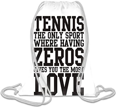 Cordon Tennis Slogan The De Only Zeros Sport Sac Having Where qOzqB