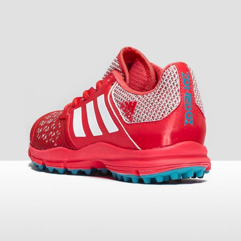 Amazon.com | adidas Zone Dox Women's Hockey Shoes, Blue/Silver/Blue, US10.5  | Field Hockey & Lacrosse