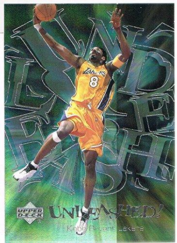 (2000-01 Upper Deck Unleashed #U8 Kobe Bryant)