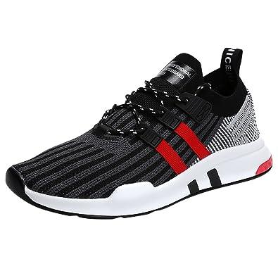 c324d312099d2 Amazon.com | Men's Running Shoes Breathable Sneakers Sport Shoes ...