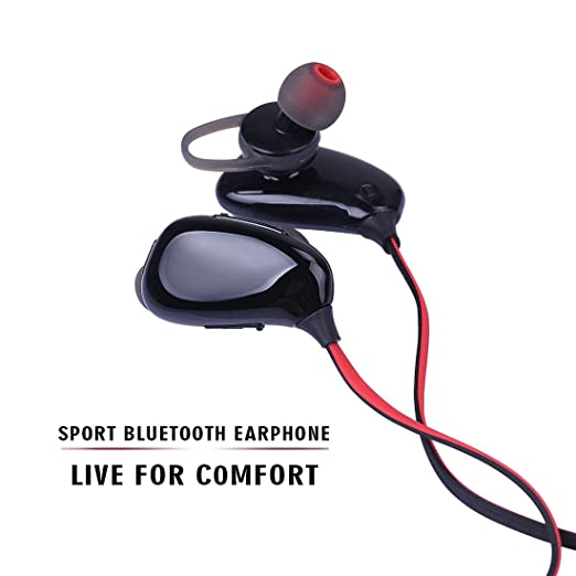 29 opinioni per bluetooth stereo auricolare must AVWOO 4.0wireless per sport, earphone microfono