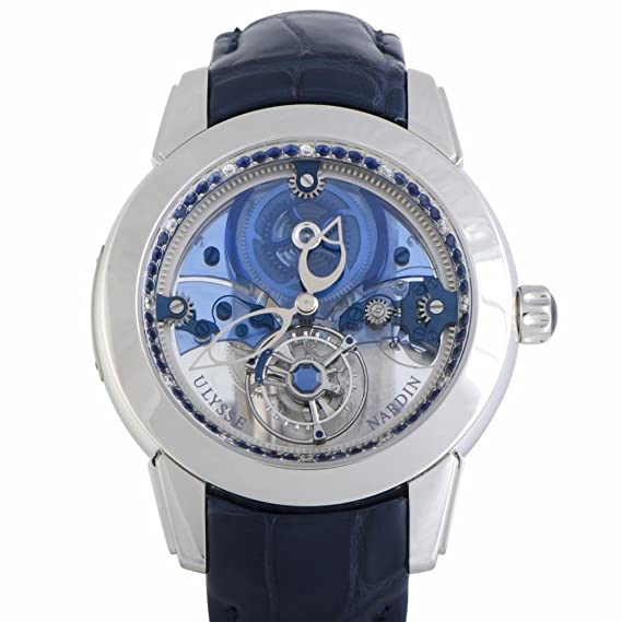 Ulysse Nardin 799-92 - Reloj mecánico para hombre, color azul