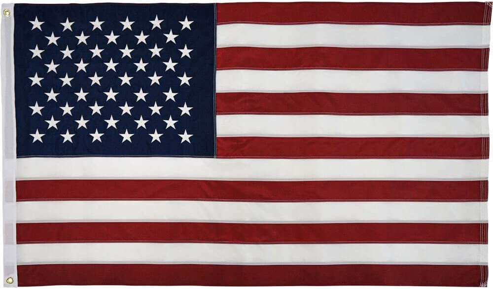 Founding Fathers Flags USA 3x5ft Embroidered Flag - 100% American Made - FMAA Certified Sewn Flag