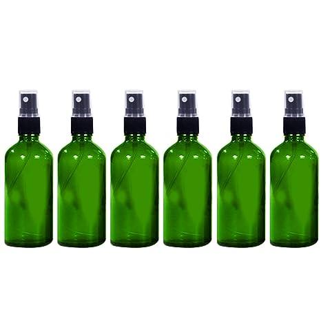 Vococal - 6 Piezas 50ml Vacía Recargable Vidrio Botella del Aerosol/Pulverizador de Perfumes/