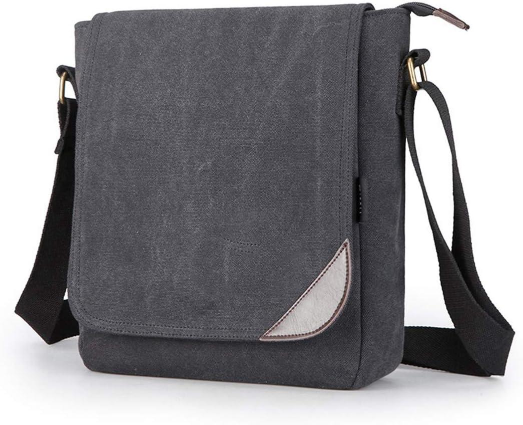 Canvas Men Designer Vintage Single Shoulder Bag Messenger Bags School Crossbody Bag 25930Cm khaki
