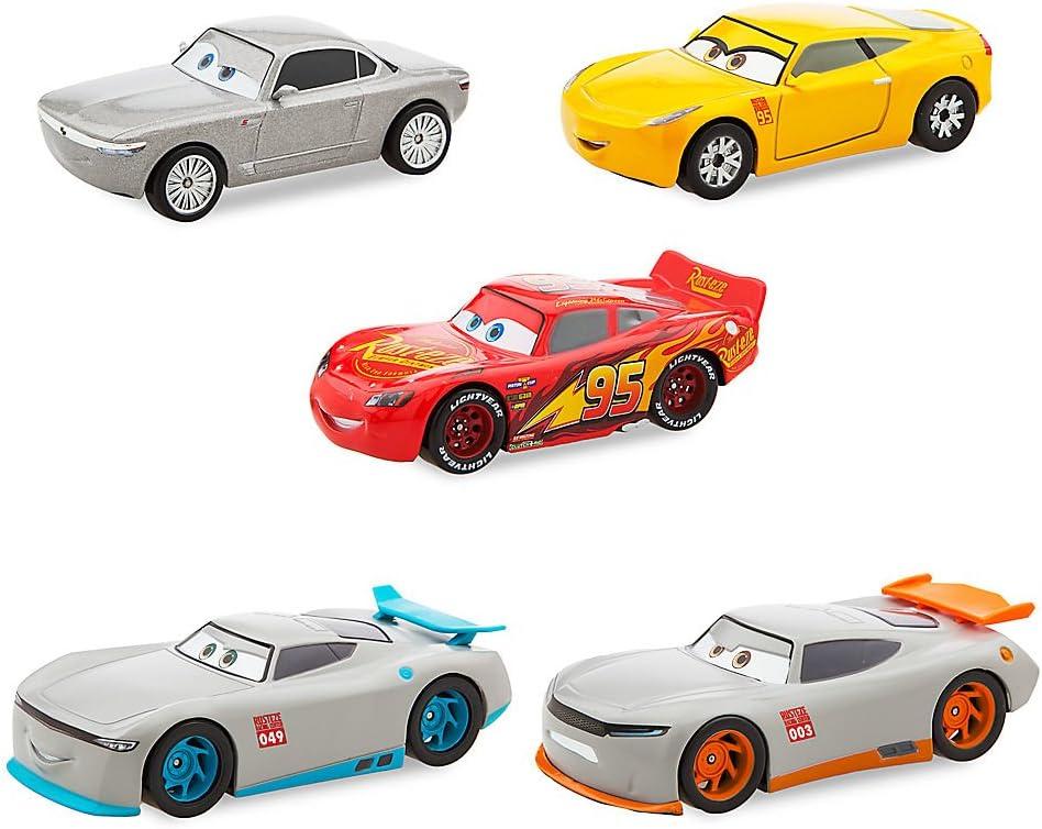 Amazon Com Disney Cars 3 Deluxe Die Cast Set Next Gen 5 Piece