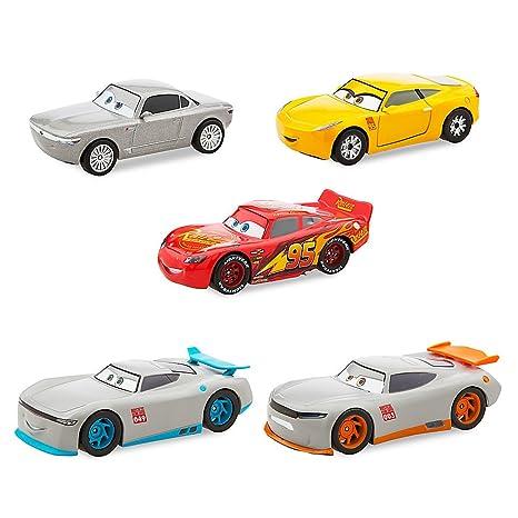 Amazon Com Disney Cars 3 Deluxe Die Cast Set Next Gen 5 Piece Toys