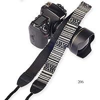 SYGA 1 Piece Black Coloured DSLR Camera Shoulder Strap