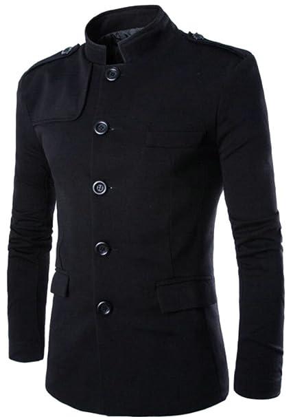 Amazon.com: M & S & W para hombre túnica traje una hilera ...