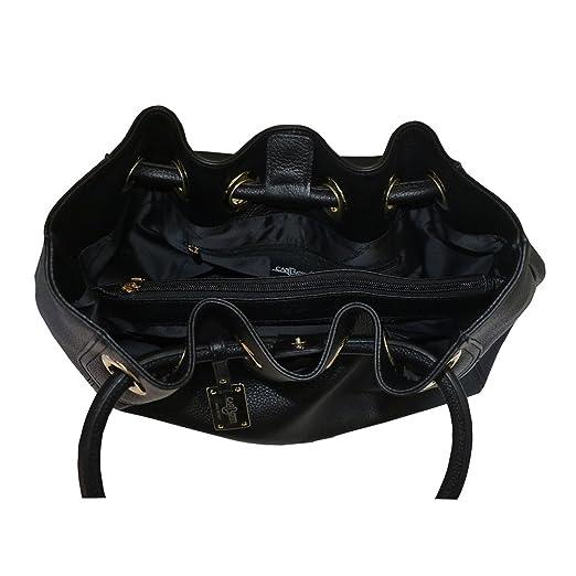 Carbotti borsa a tracolla della borsa del cuoio hobo
