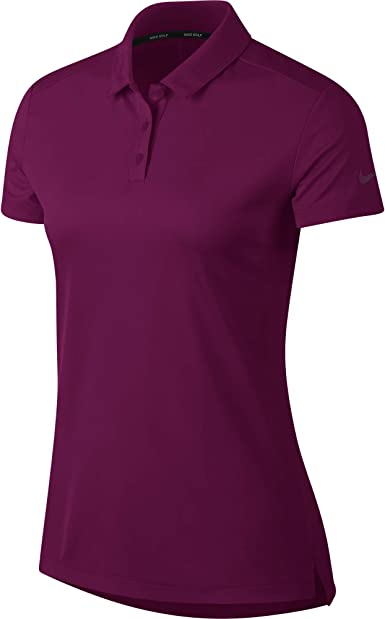 Nike W Nk Dry Polo SS Polo, Mujer, True Berry/True Berry, XS ...
