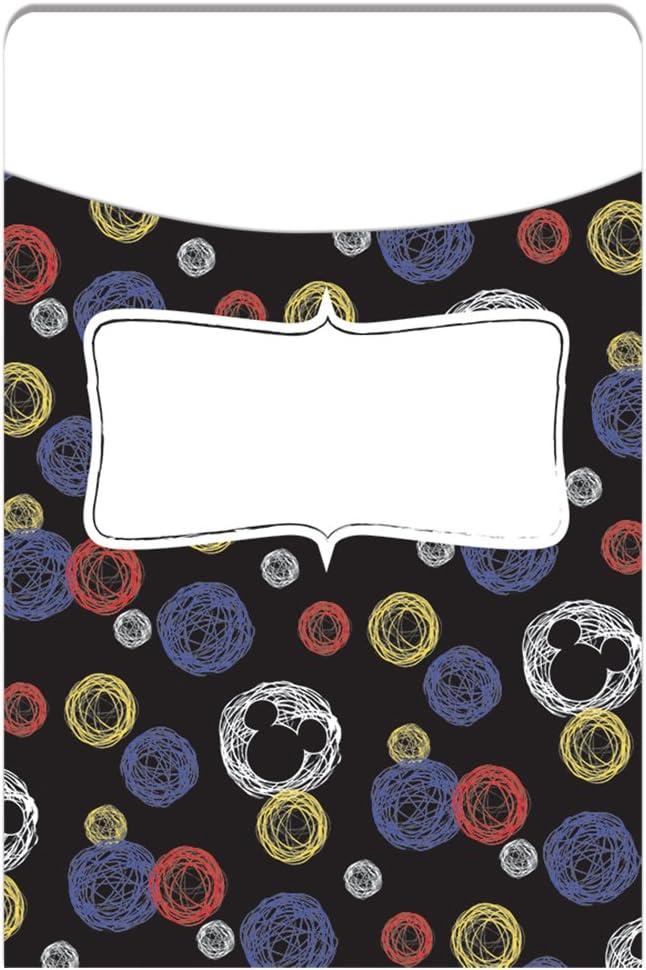 Eureka Mickey Color Pop! Library Pockets (866400)
