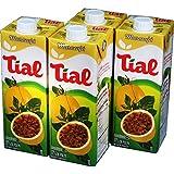 Tial - Nectar/Juice Passion Fruit - 33.81 Fl Oz (PACK OF 4) | Néctar/Suco de Maracujá - 1000ml