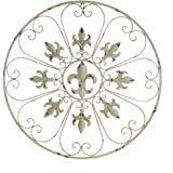Accent Plus Metallic Wall Decor, Vintage Wrought Iron Wall Decor For Bathroom