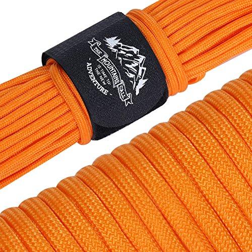 明るい道路遺産AmazingGear パラコード 30m テント ロープ 9芯 パラシュートコード 耐荷重250kg ガイロープ キャンプ サバイバル アウトドア用