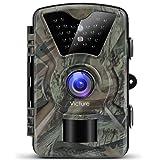 Victure IP66 - Fotocamera da Caccia, Impermeabile, Infrarossi, Movimento Attivato, Schermo LCD 2.4 Pollici, 1080P, 12MP