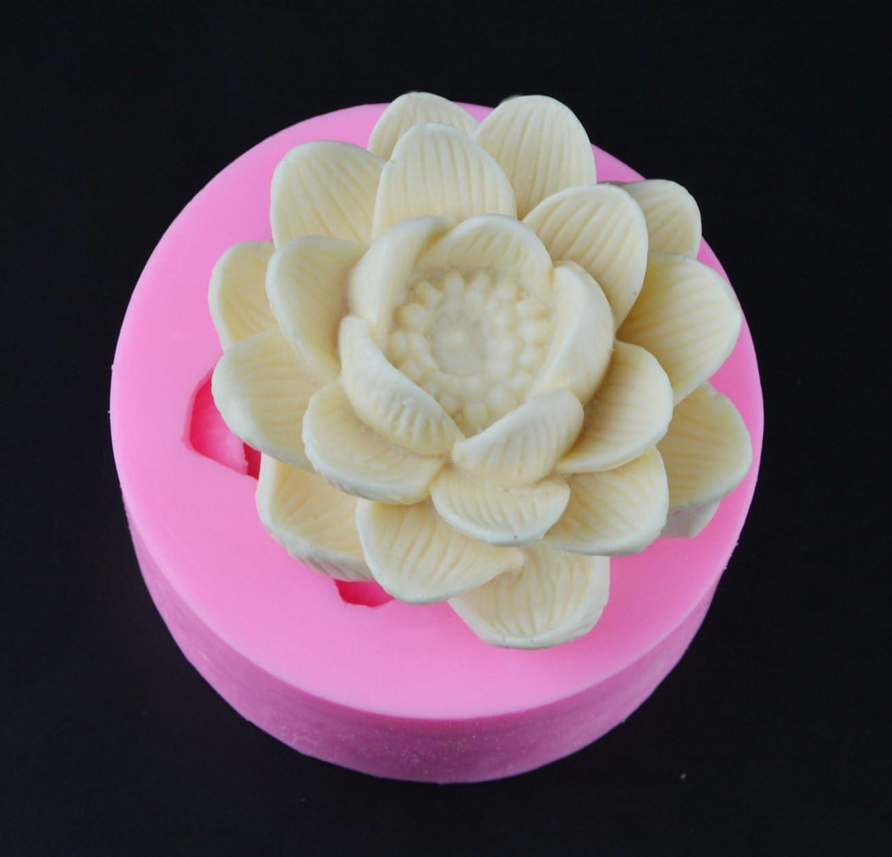 DIY Flower Silicone Fondant Cake Mold Chocolate Decorating Baking Mould Tool