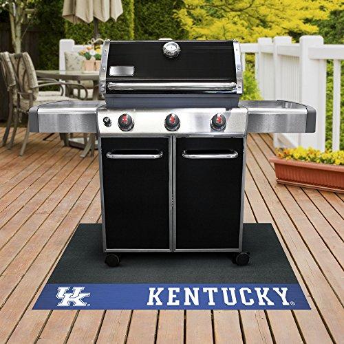 FANMATS NCAA University of Kentucky Wildcats Vinyl Grill Mat