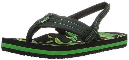 4fba14e6b44 Reef Boys  Ahi Glow - K Flip Flops Blue Yellow  Amazon.co.uk  Shoes ...