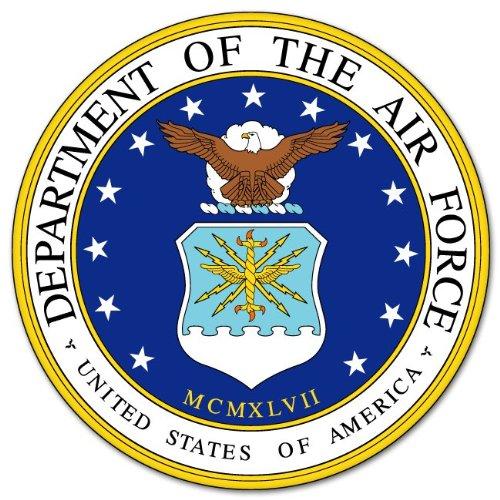 (US Department of Air Force car bumper sticker 4