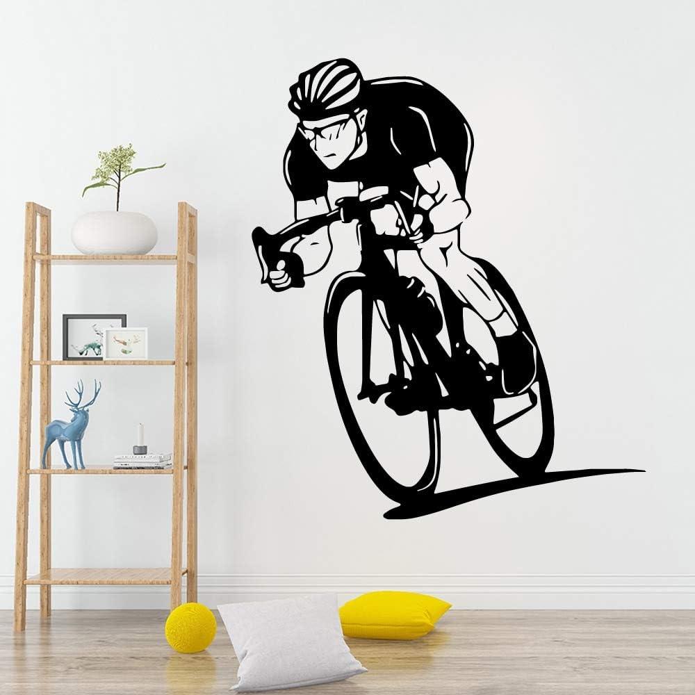 Tianpengyuanshuai Pegatina de Pared de Bicicleta de Belleza Vinilo ...