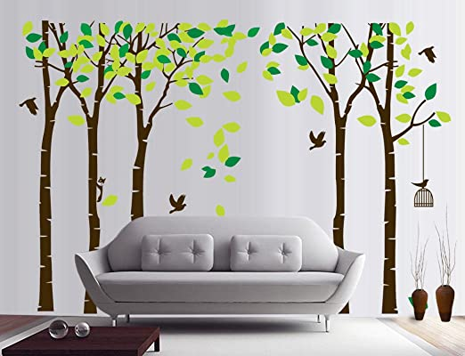 2019 Kraft paper Posters Livingroom Bedroom Home Decor Wall Sticker Kraft Paperr