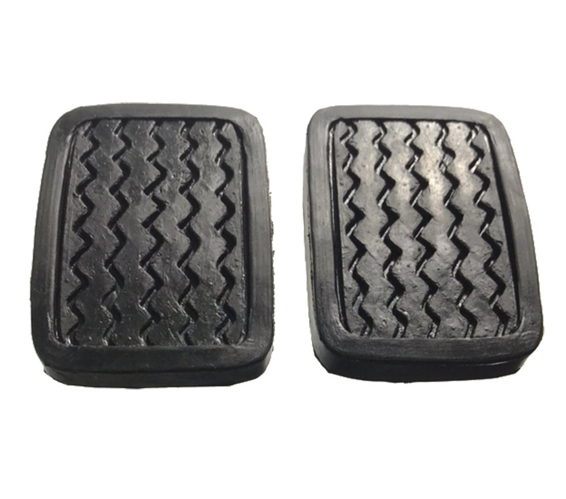 Amazon.com: ihave 2X Brake Clutch Pedal Pad Covers for Datsun 620 520 521 610 720 311 320 46431-04100: Automotive