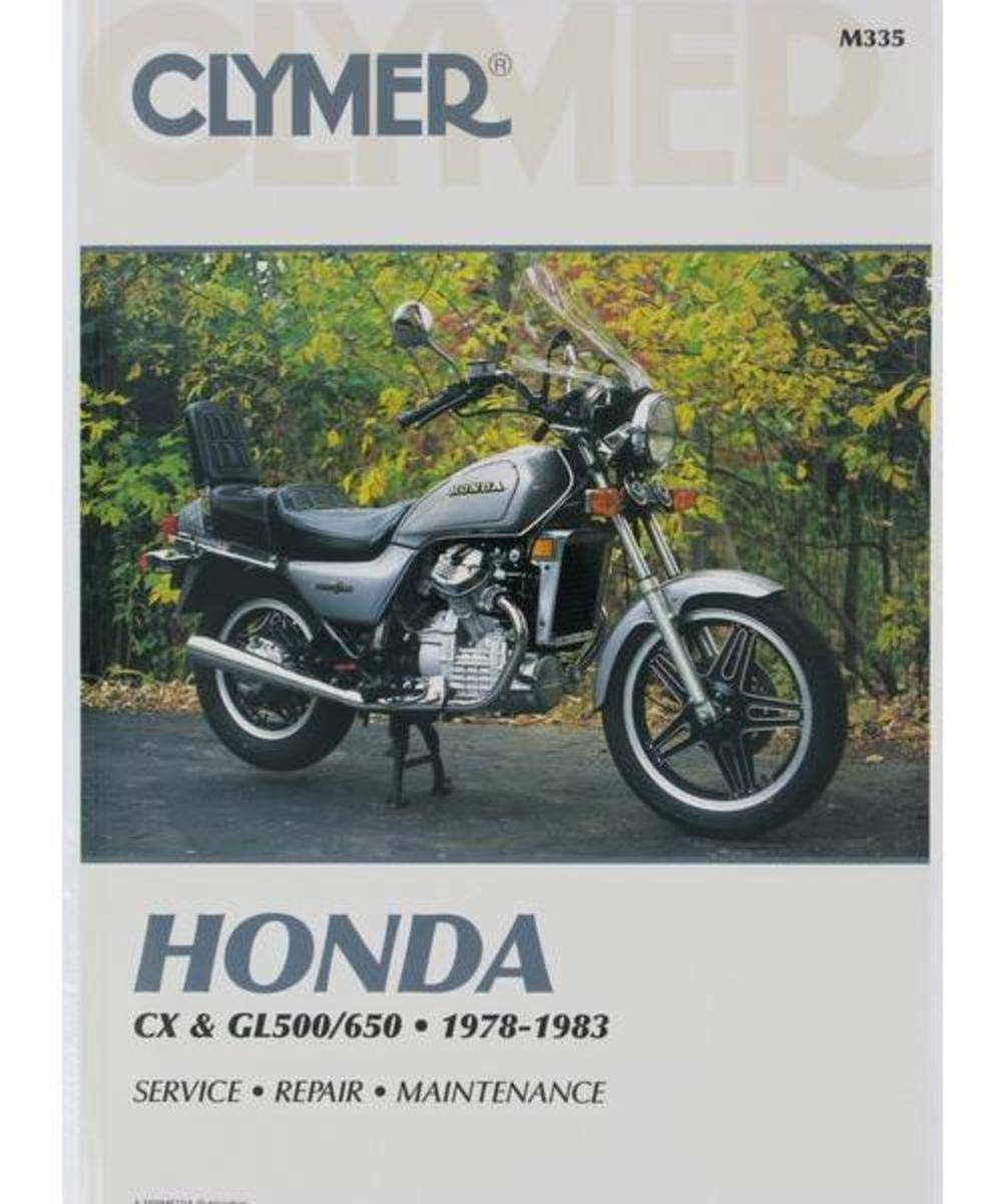 Amazon.com: Clymer Repair Manual for Honda CX GL 500/650 Twins 78-83:  Automotive